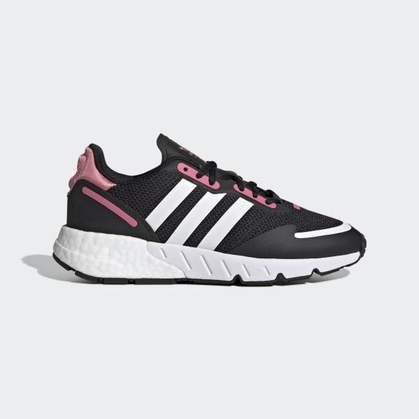 adidas ZX 1K Boost Shoes - Black   FX6872   adidas US