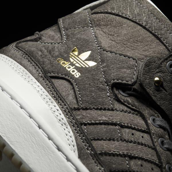 half off 667c0 d0270 adidas Tenis Forum corte Alto Crafted - Gris  adidas Mexico