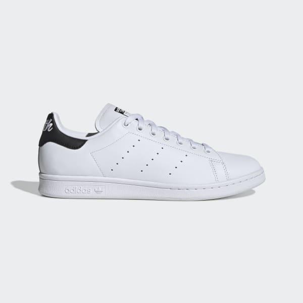 Stan Smith Schuh in Weiß und Dunkelblau   adidas Deutschland