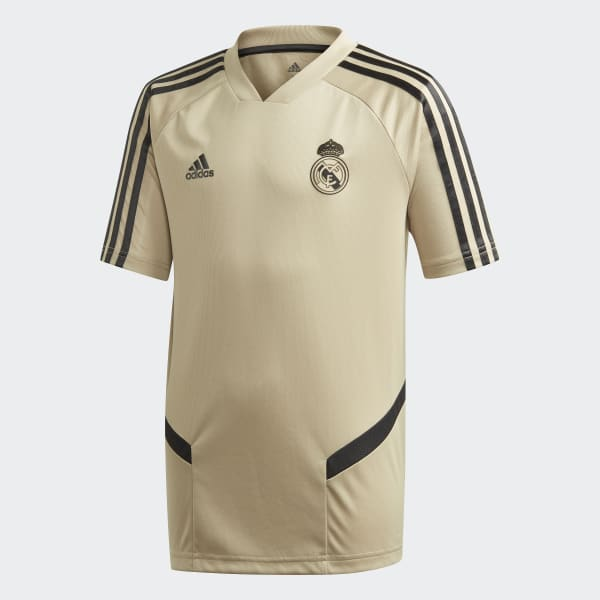 Real Madrid Training Top White Kids adidas Football
