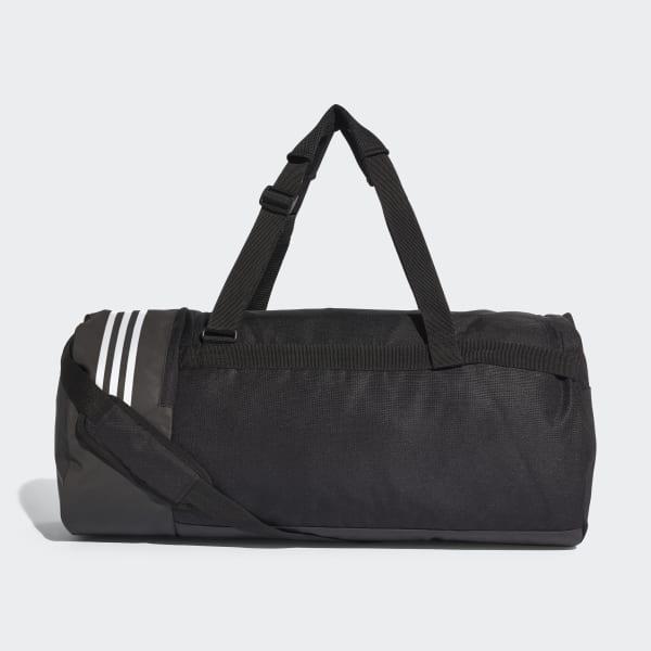 b960e54ba10d8 adidas Convertible 3-Streifen Duffelbag L - schwarz
