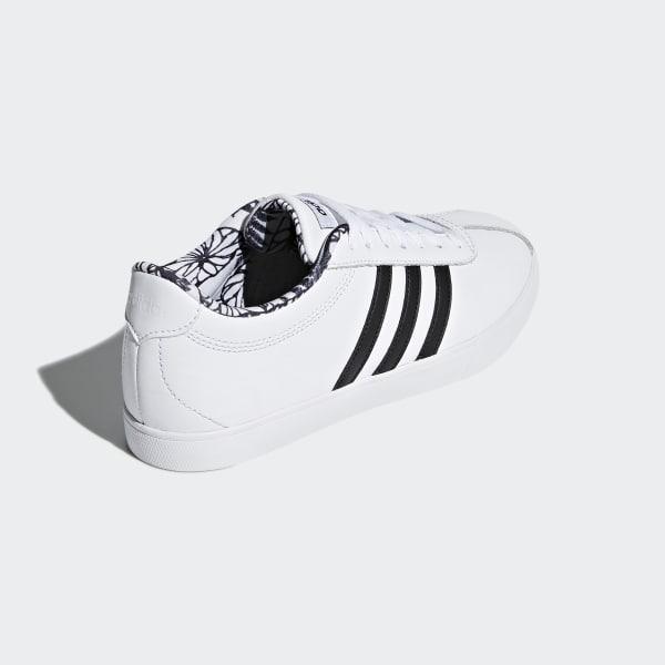 Adidas COURTSET BB7322 Bianco Scarpe Donna Sneakers Sportive