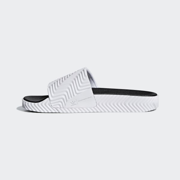6bf2451d6110 adidas Originals by Alexander Wang Adilette Slides - White