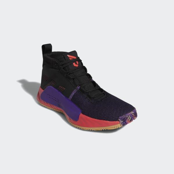 d0de87d574541d adidas Dame 5 Shoes - Black