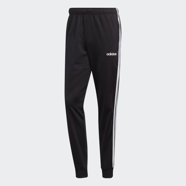 menta Estricto caos  adidas Essentials 3-Stripes Tapered Tricot Pants - Black | adidas US