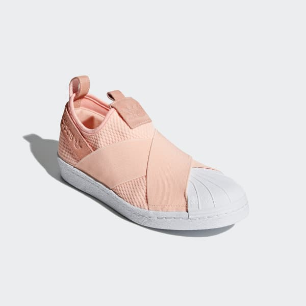 8f277c7cad8 Tênis Superstar Slip-on - Rosa adidas