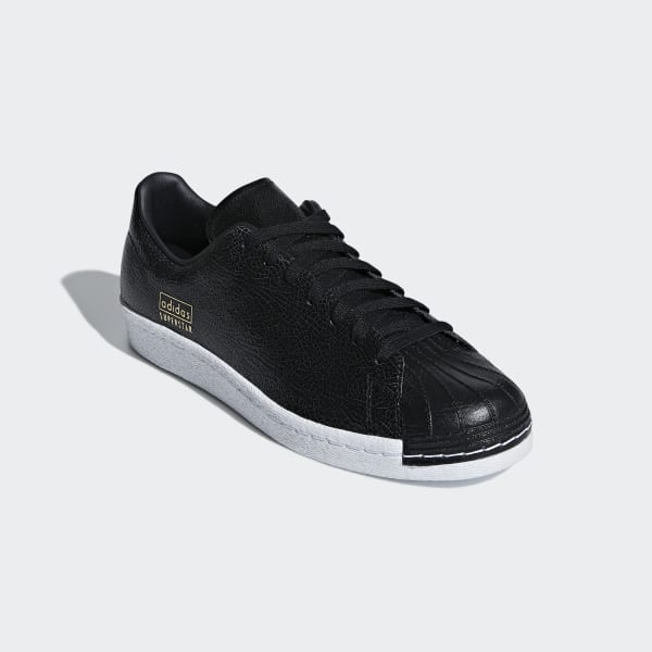 adidas superstar clean black