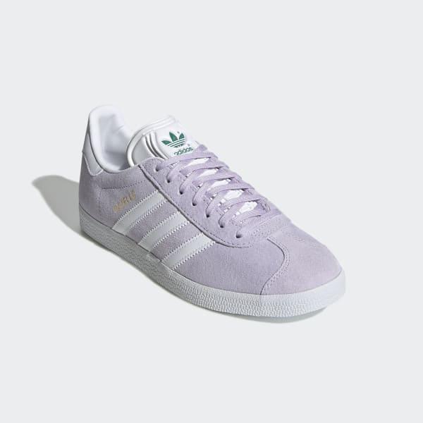 Zapatillas Gazelle lilas y blancas para mujer | adidas España
