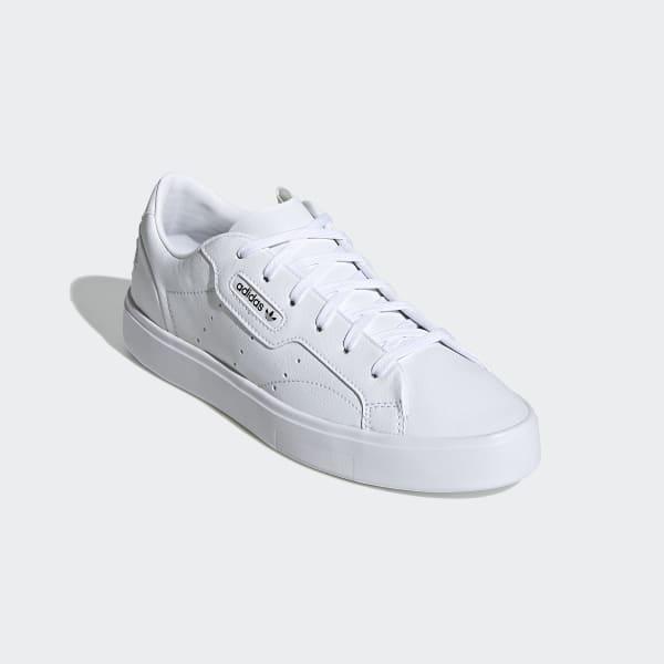 adidas Sleek Vegan Shoes - White | adidas US