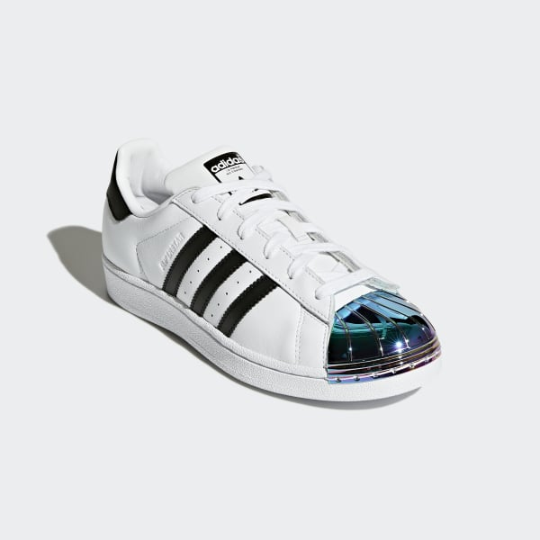 4e070f85905 adidas Superstar Metal Toe Shoes - White