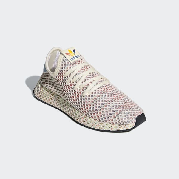 a1a41f941 adidas Deerupt Pride Shoes - White