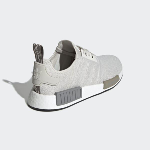 adidas NMD_R1 Primeknit Core White Core White Raw White   Footshop