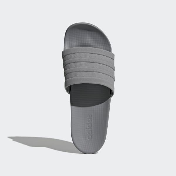 5eecd9e3d935c8 adidas adilette Cloudfoam Plus Mono Slides - Grey