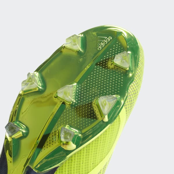 Chuteira X 18+ Campo - Amarelo adidas  c075788634337