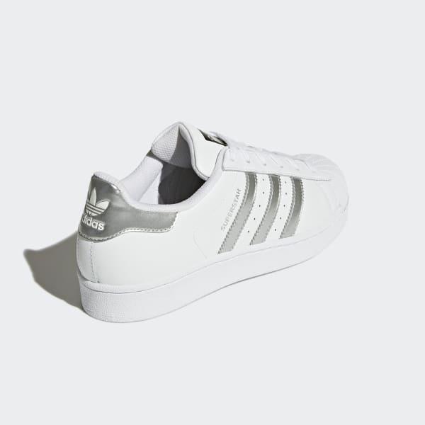 Silver Metallic Shoes | adidas
