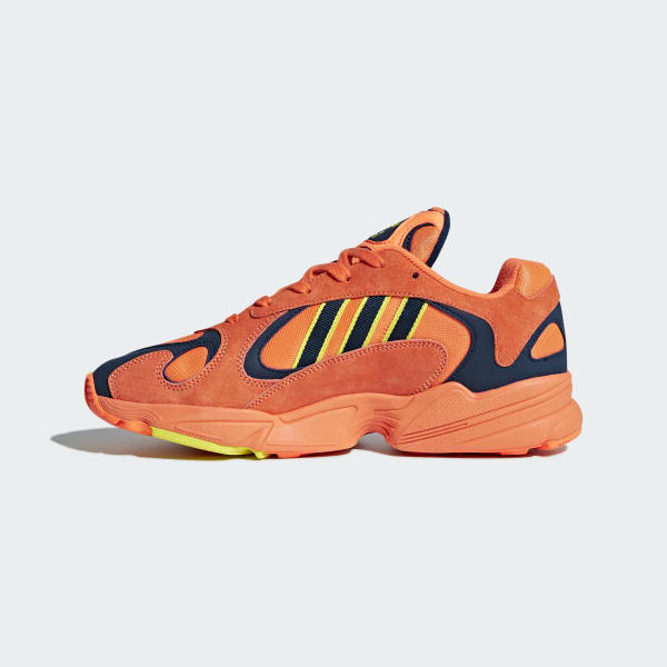 54b95bad5cd adidas Yung-1 Shoes - Orange