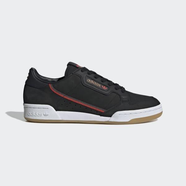 brand new 68613 9ebde adidas Originals x TfL Continental 80 Shoes - Black  adidas