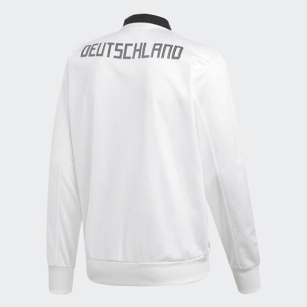 Jaqueta Alemanha - Branco adidas  8b2aea8b046b6
