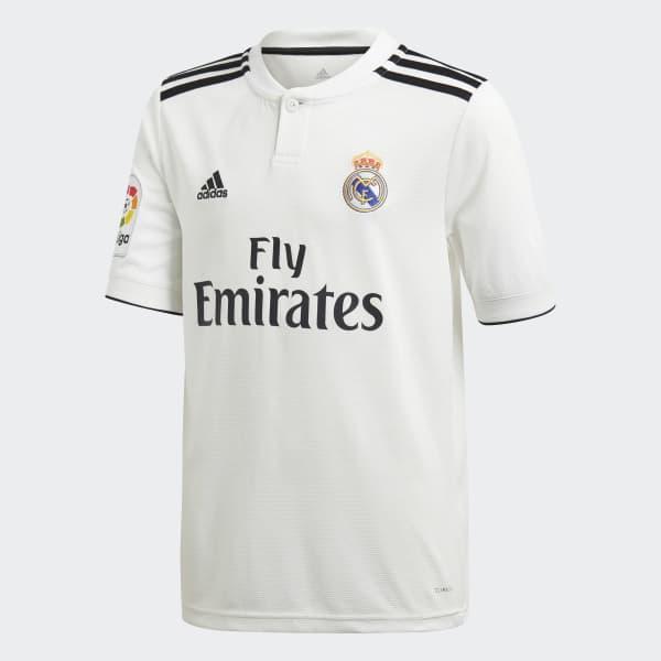 99161ce97c4e1 Miniconjunto primera equipación Real Madrid - Blanco adidas