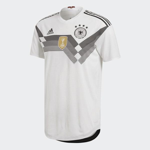 9504905e55055 Camisa Oficial Authentic Alemanha 1 2018 - Branco adidas