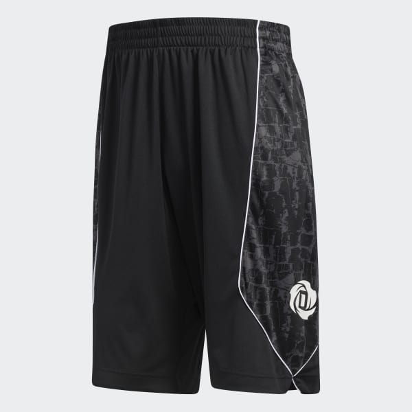 7c617d792879 adidas D Rose Shorts - Black