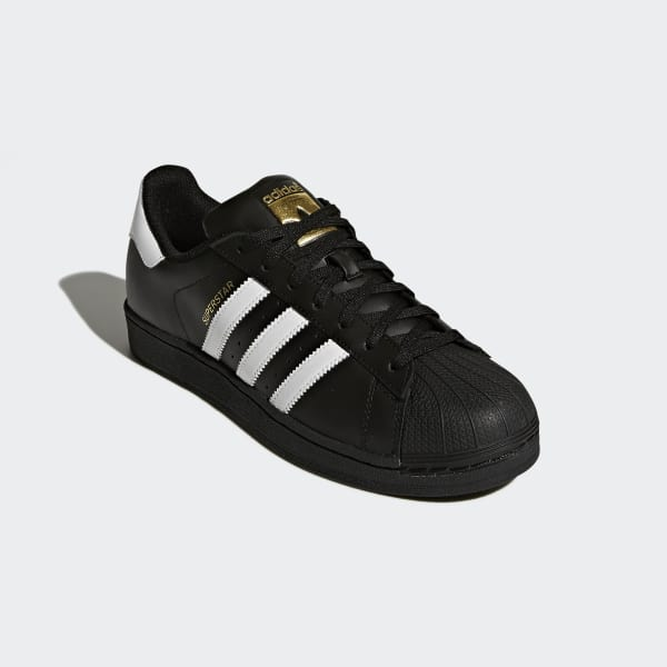 0cbb04a27 adidas Sapatos Superstar Foundation - Preto