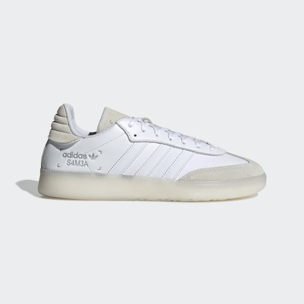 sopa Aturdir detalles  adidas Samba RM Shoes - White | adidas Australia