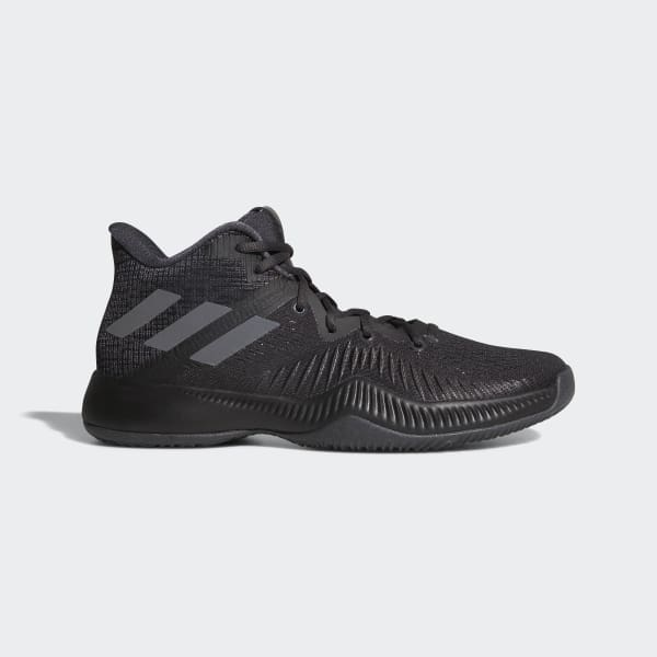9f77f859f ADIDAS MAD BOUNCE BLACK GREY MEN S BASKETBALL SHOE