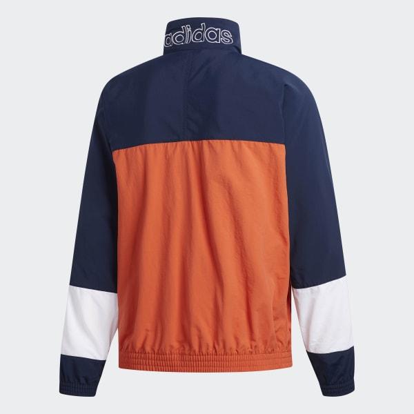 best service 5c0b7 de388 adidas Tourney Warm-Up Jacket - Orange  adidas US