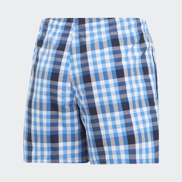 Check Swim Shorts