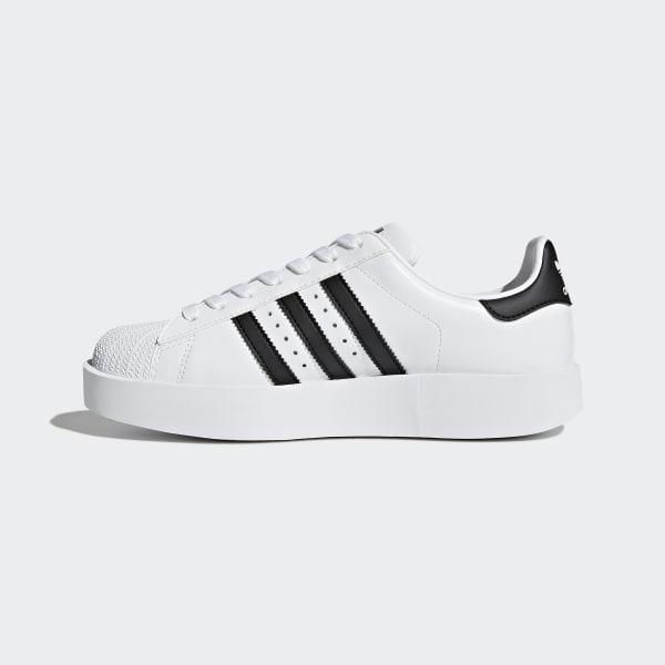5308cea11cb Zapatillas Superstar Bold Platform - Blanco adidas