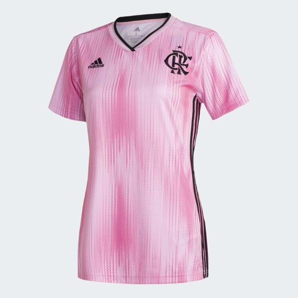 Crf Jsy Outubro Rosa Rosa Adidas Adidas Brasil