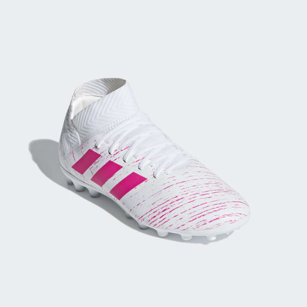 3b93c0b134b5c Bota de fútbol Nemeziz 18.3 césped artificial - Blanco adidas ...