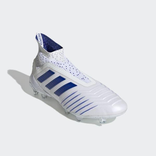 b8c6c50b Zapatos de Fútbol Predator 19+ Terreno Firme - Blanco adidas ...