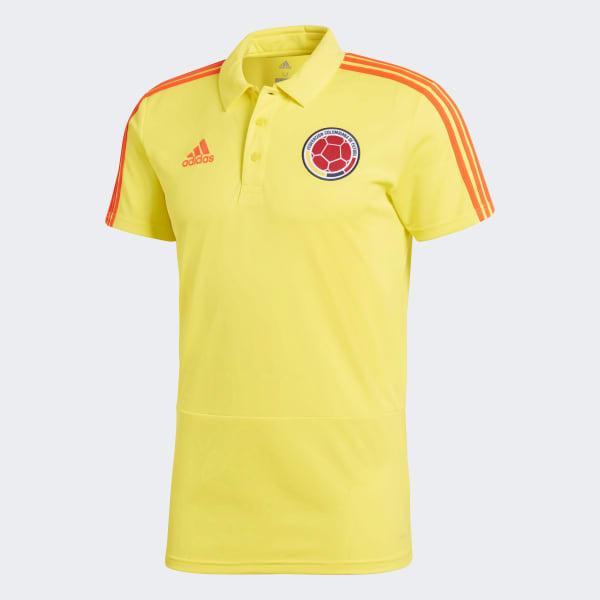 ed551e964 adidas Camiseta Polo Selección Colombia 2018 - Amarillo   adidas Colombia