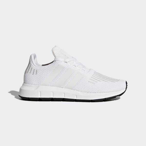 Kids Swift Run All White Shoes | adidas US