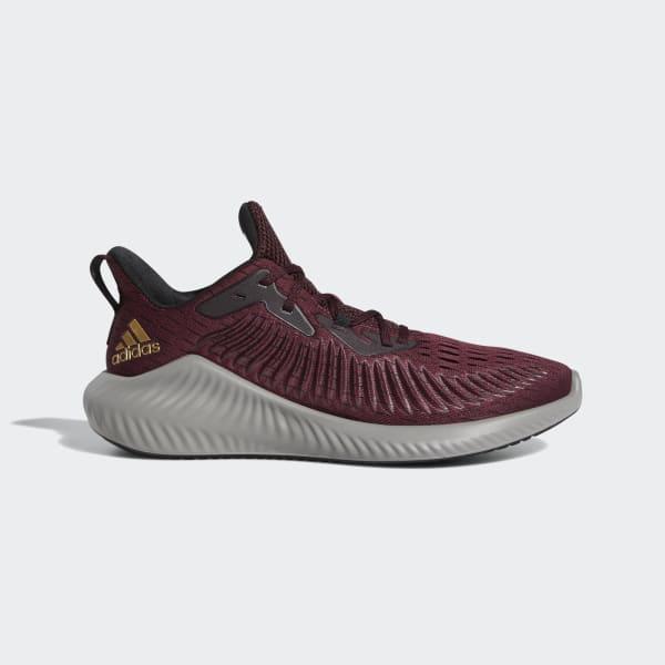 adidas Alphabounce+ Shoes - Burgundy