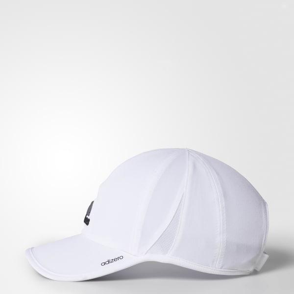 8b7720b2e50f4 adidas adizero II Cap - White