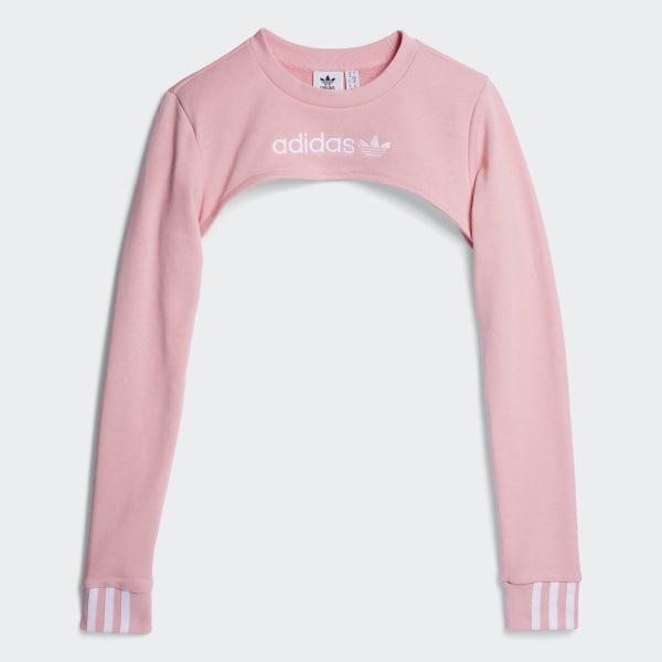 3b277bbbb4 adidas Shrug Sweater - Pink