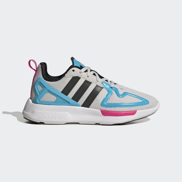adidas ZX 2K Flux Shoes - Grey | adidas