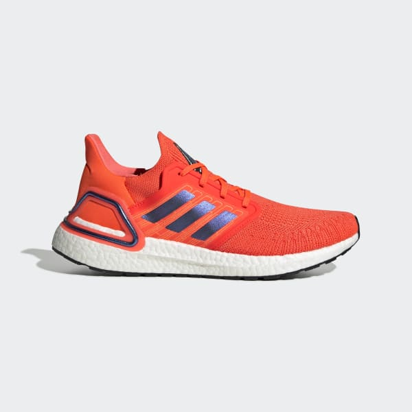 Ultraboost 20 Solar Red and Violet