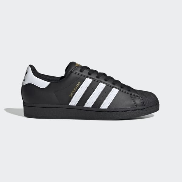 Adidas Superstar Superstar Core Black and White Shoes | adidas US