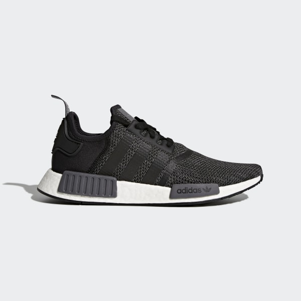 edd559759 NMD R1 Shoes Core Black   Carbon   Cloud White B79758