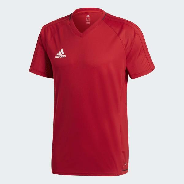 adidas Camiseta de fútbol Tiro 17 - Rojo  01e5b3344ff74