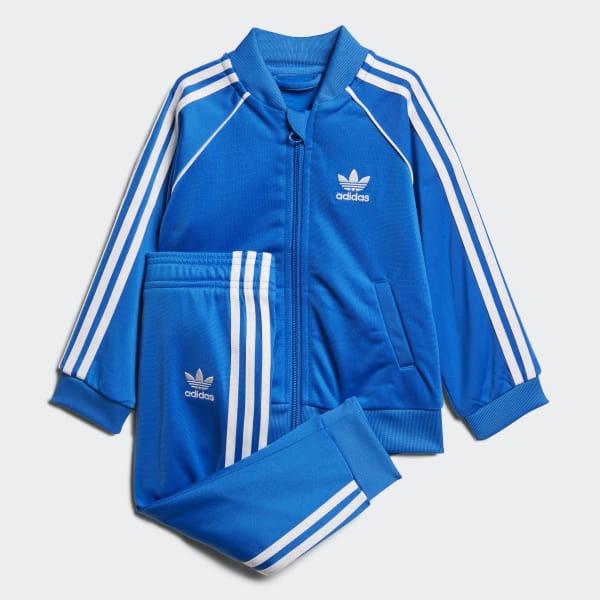 Bekleidung Streetwear adidas Kinder I Aqua SST