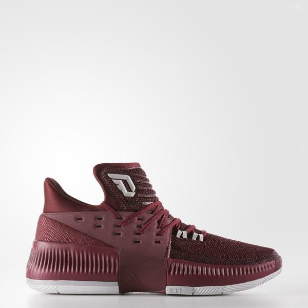 adidas Dame 3 Shoes - Burgundy | adidas US