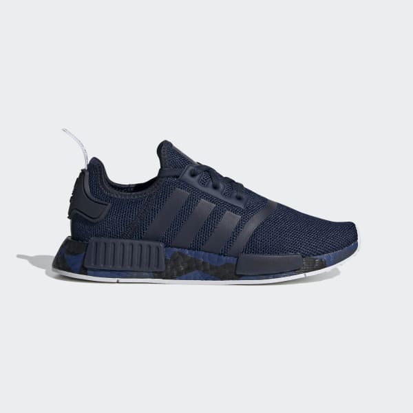 Kids NMD R1 Navy Blue Shoes | adidas US