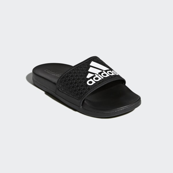 low priced c4b42 a8102 adidas adilette Cloudfoam Plus Slides - Black  adidas US
