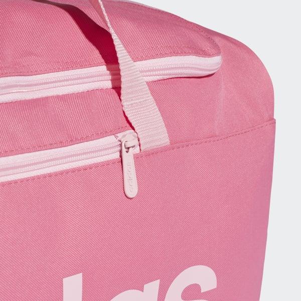 3d183da2fda683 adidas Linear Core Duffeltas Medium - roze | adidas Officiële Shop