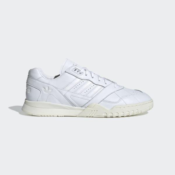 adidas Platåsneakers Kvinner AlphaBOUNCE Trainer Hvit Hot